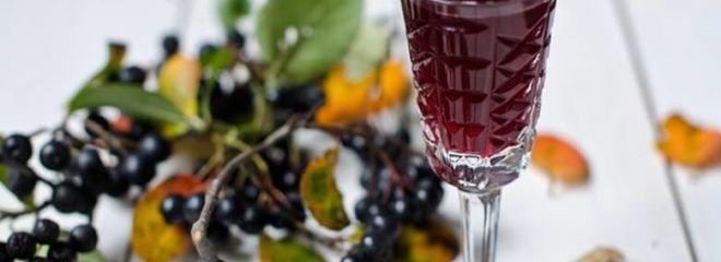 Лучшие рецепты ликера из черноплодной рябины