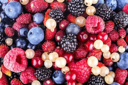 Замороженные ягоды для приготовления настойки