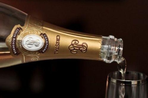 История элитного шампанского Кристалл