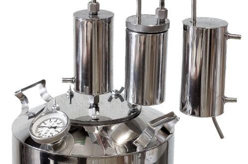 Как получить качественный самогон при дробной перегонке спирта-сырца, подробная таблица