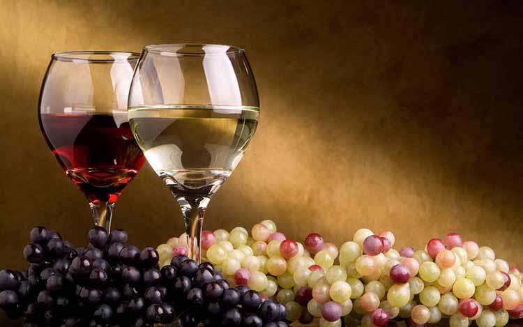 Процесс приготовления вина