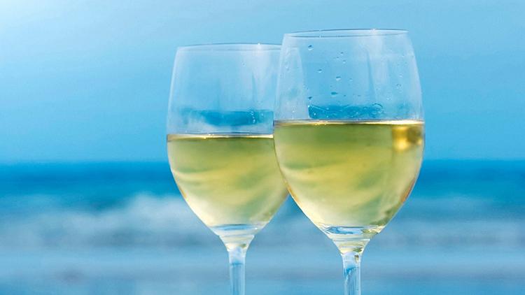 Полезное белое вино