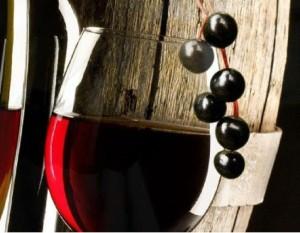 Бокал вина из черемухи