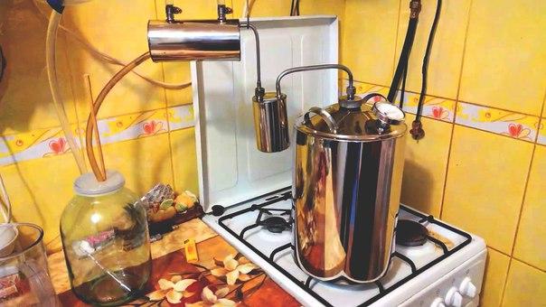 Как готовится самогон