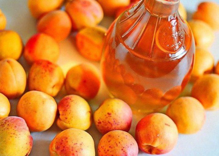 абрикос на водке