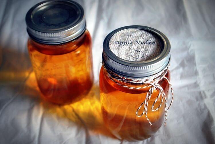 настойка из яблок на водке
