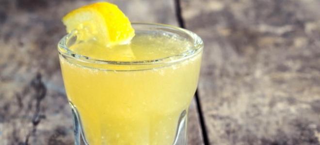 банановая настойка с лимоном