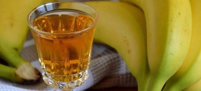 банановый ликер на спирту