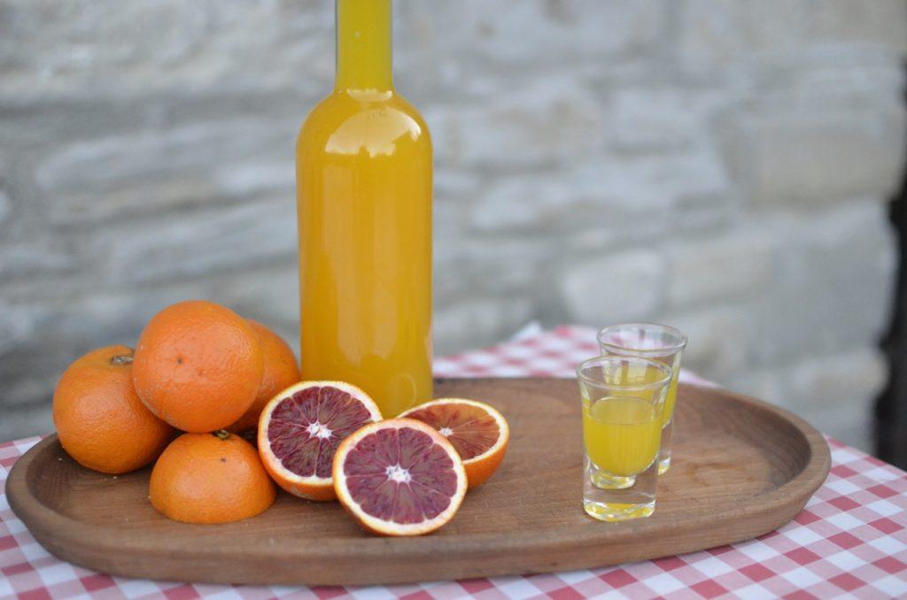 настойка из апельсинов на спирту с грейпфрутом