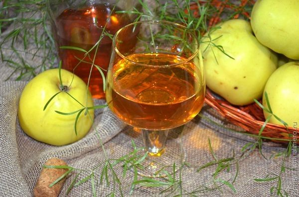 яблочная настойка без водки