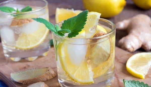 лимонная настойка с имбирем