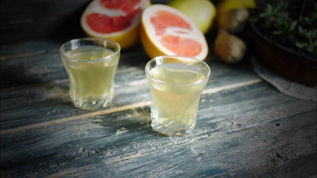 лимонная настойка с грейпфрутом