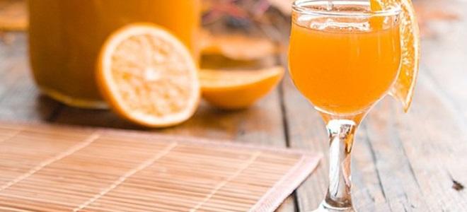 настойка на мандаринах и апельсинах