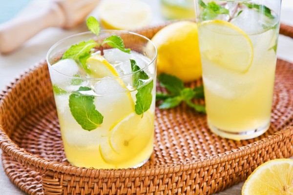 лимонный мохито на самогоне
