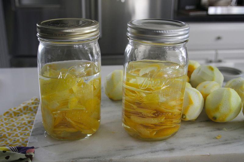 настой лимона на самогоне с цедрой