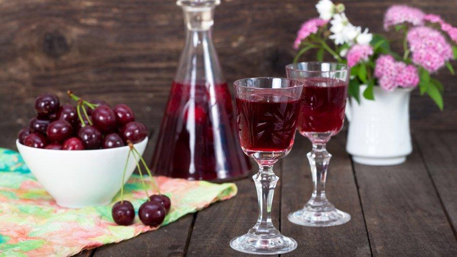 наливка из вишни на спирту