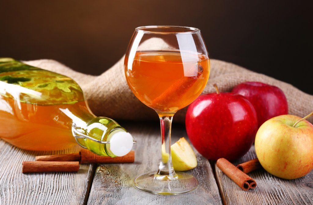 пряная настойка из яблок