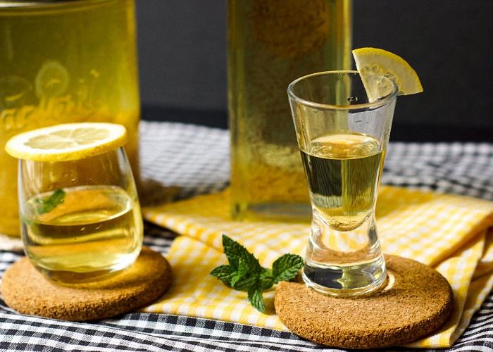 настойка из лимона на водке