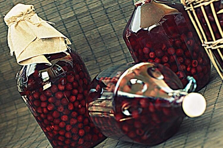 домашняя вишневая наливка