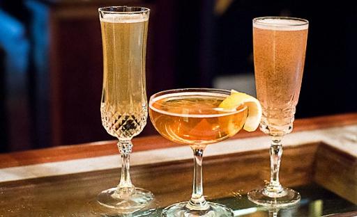 коктейль виски с шампанским