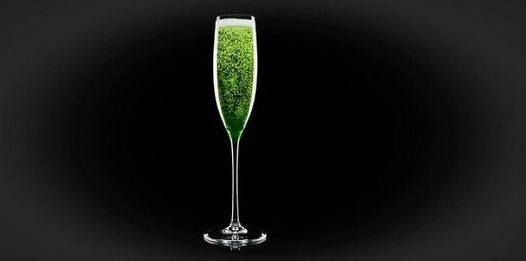 абсент с шампанским