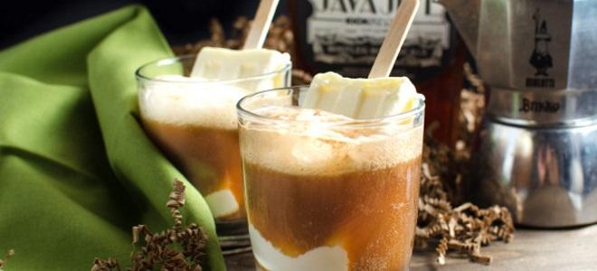 коктейли с коньяком и мороженым