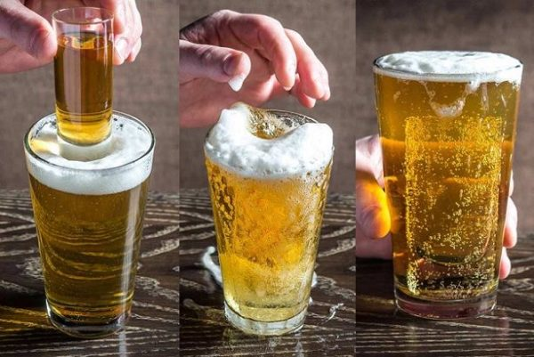егерь с пивом
