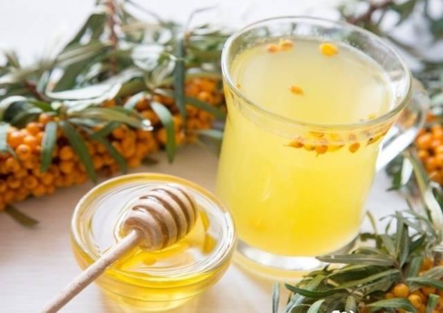 настойка из облепихи с медом