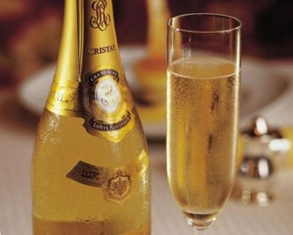 шампанское брют кристалл